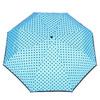 Niebieska parasolka w kropki bata, niebieski, 909-9601 - 26