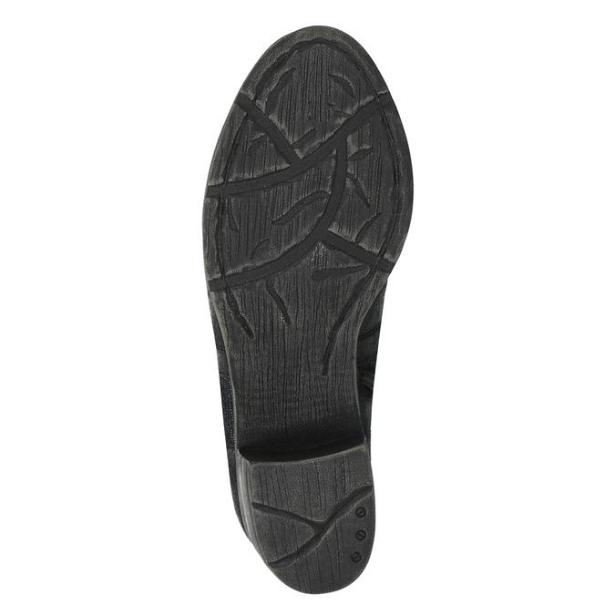 Botki z futerkiem bata, czarny, 699-6632 - 26