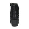 Botki z futerkiem bata, czarny, 699-6632 - 17