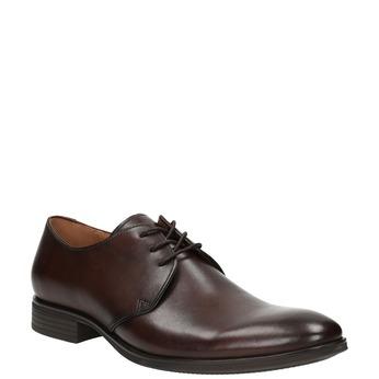 Brązowe półbuty zeskóry bata, brązowy, 824-4754 - 13