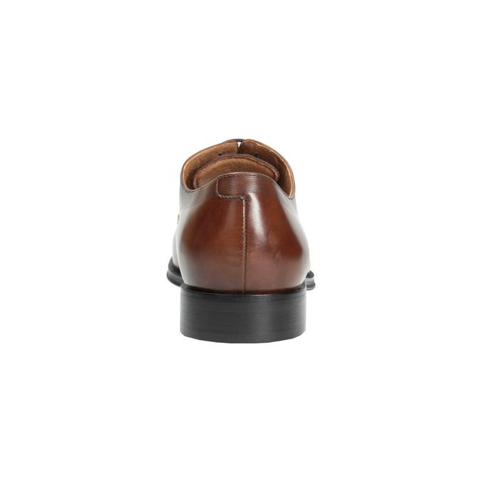 Brązowe skórzane półbuty typu oksfordy bata, brązowy, 826-3810 - 17