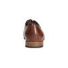 Skórzane półbuty z fakturą bata, brązowy, 826-3813 - 17