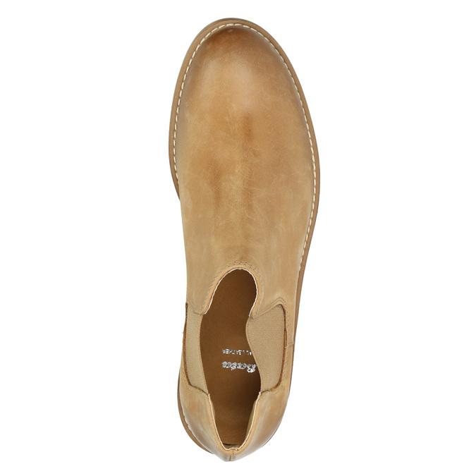 Skórzane buty Chelsea Boots bata, brązowy, 594-3432 - 19