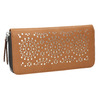 Brązowy portfel zperforacją bata, brązowy, 941-3154 - 13