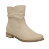 Botki damskie bata, beżowy, 599-8614 - 13