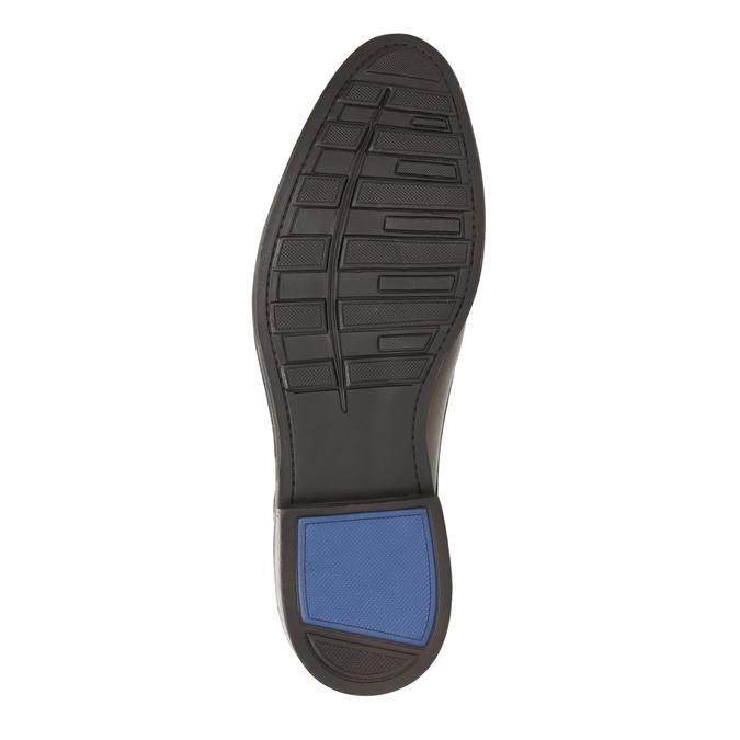 Brązowe półbuty męskie zeskóry bata, brązowy, 826-4800 - 26