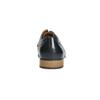 Granatowe półbuty ze skóry bata, niebieski, 826-9794 - 17