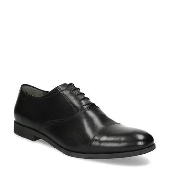 Czarne skórzane półbuty typu oksfordy vagabond, czarny, 824-6048 - 13