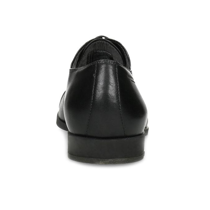 Czarne skórzane półbuty typu oksfordy vagabond, czarny, 824-6048 - 15