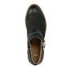 Skórzane botki zklamrami bata, czarny, 596-6634 - 19