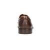 Brązowe półbuty męskie zeskóry bata, brązowy, 826-4800 - 17