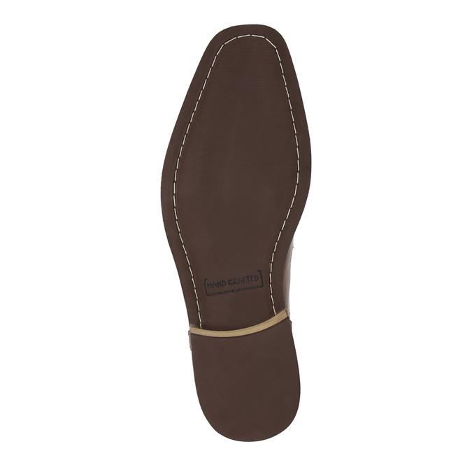 Skórzane buty za kostkę zzamkami błyskawicznymi bata, brązowy, 894-3684 - 26