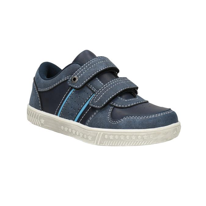 Dziecięce buty sportowe z przeszyciami mini-b, niebieski, 411-9604 - 13