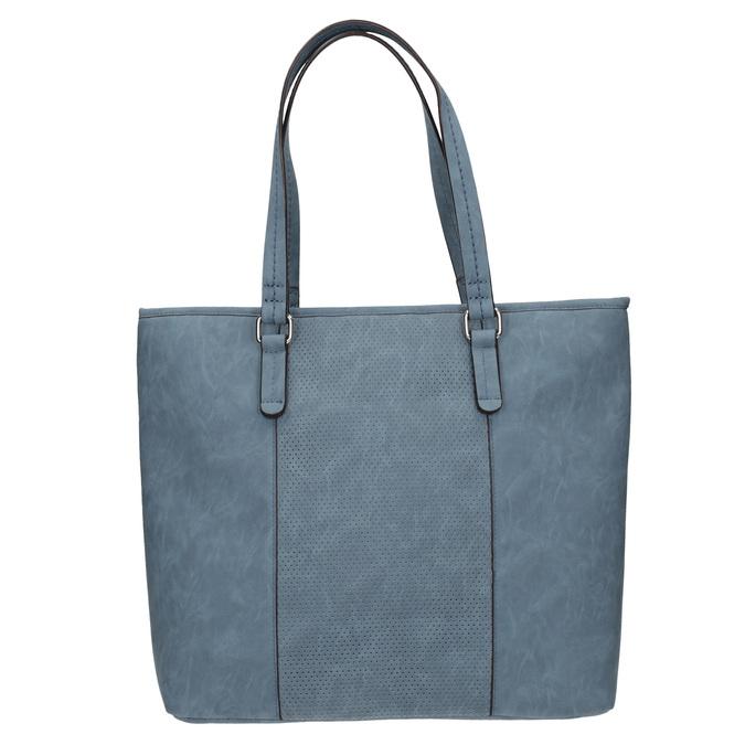 Niebieska torba zperforacją bata, niebieski, 961-9711 - 26