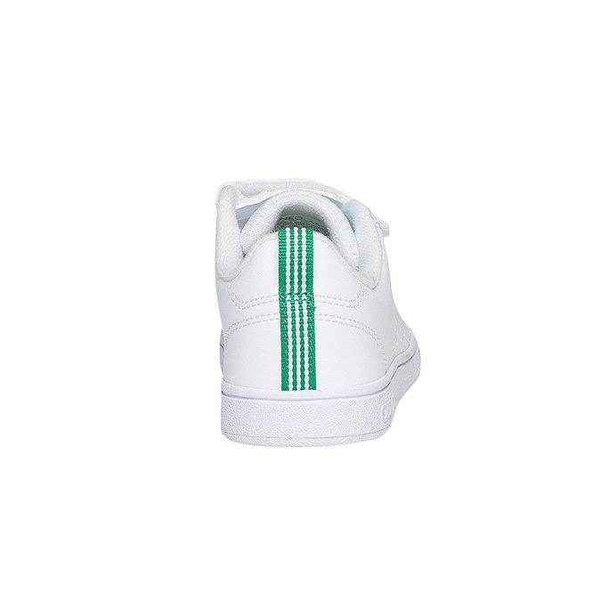 Dziecięce buty sportowe na rzepy w kolorze białym adidas, biały, 301-1168 - 17
