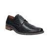 Czarne półbuty męskie ze skóry bata, niebieski, 826-6793 - 13