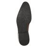Brązowe skórzane półbuty typu angielki bata, brązowy, 826-3804 - 26