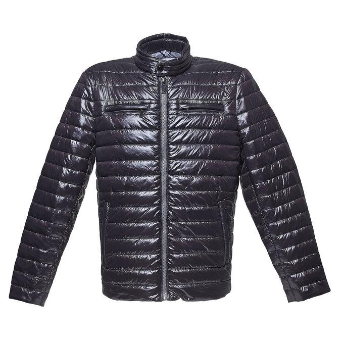 Pikowana kurtka męska bata, czarny, 979-6218 - 13