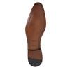 Niebieskie półbuty męskie ze skóry bata, niebieski, 826-9836 - 26