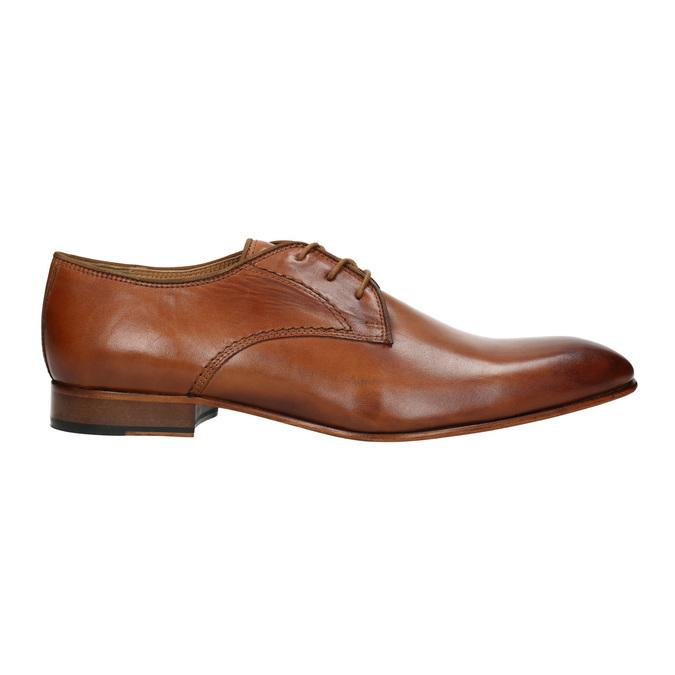Półbuty męskie ze skóry bata, brązowy, 826-3836 - 15