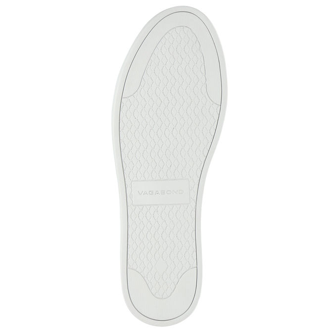Czarne skórzane buty sportowe vagabond, czarny, 624-6014 - 26