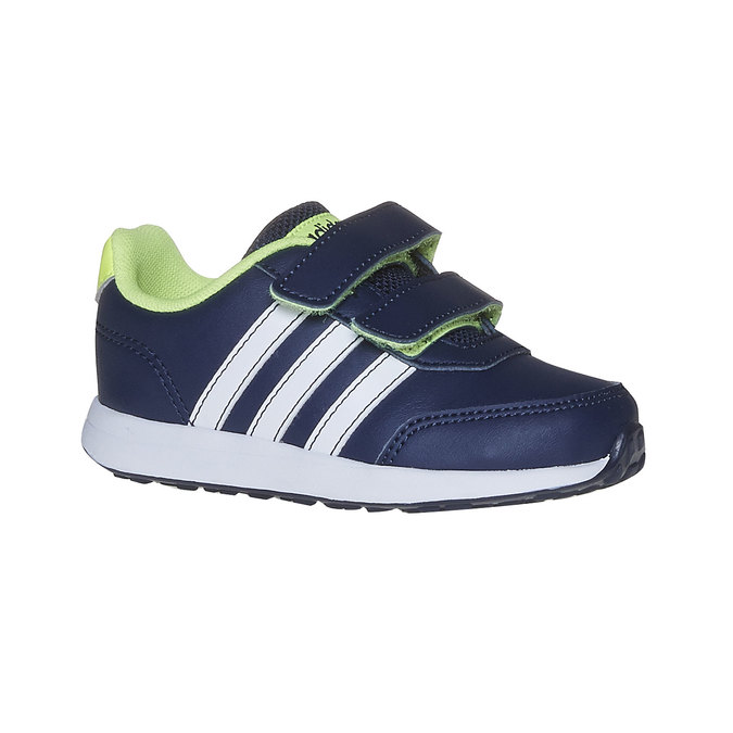 Trampki dziecięce na rzepy adidas, niebieski, 109-9163 - 13
