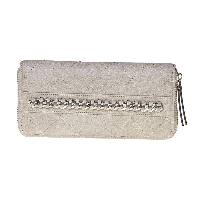 Pikowany portfel damski bata, beżowy, 941-8146 - 17