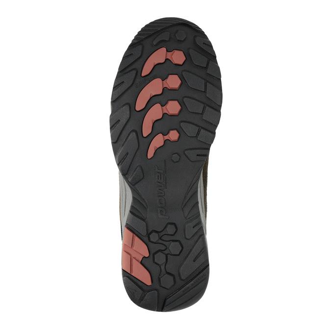 Skórzane buty w stylu outdoor power, brązowy, 803-4118 - 26