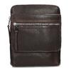 Skórzana torba typu crossbody bata, brązowy, 964-4237 - 26