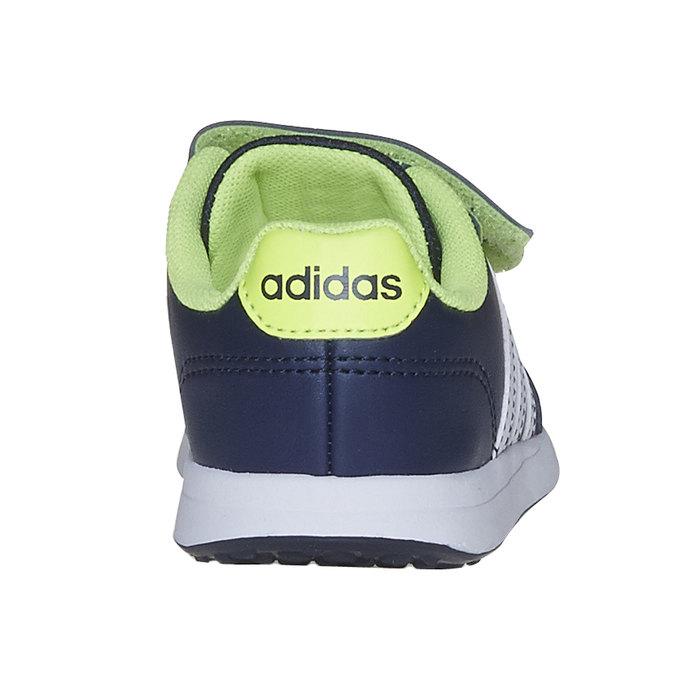 Trampki dziecięce na rzepy adidas, niebieski, 109-9163 - 17