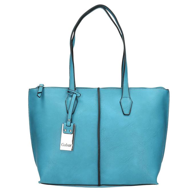 Niebieska torba damska gabor-bags, 961-9074 - 26