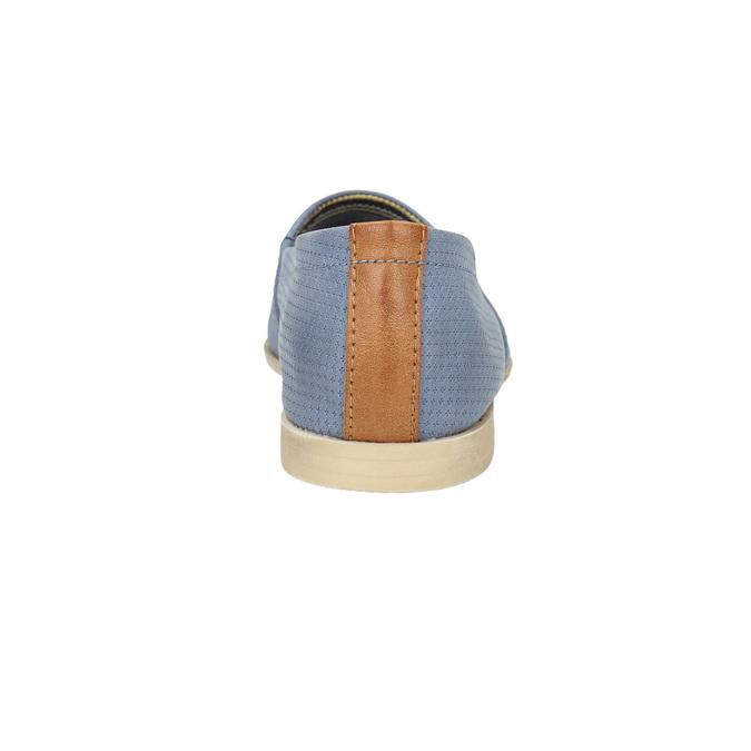 Damskie buty wstylu Slip-on bata, niebieski, 516-9602 - 17