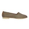 Damskie skórzane buty Slip On bata, brązowy, 516-2602 - 15