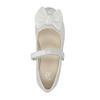 Dziecięce baleriny z kokardką mini-b, biały, 321-1247 - 19