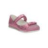 Różowe baleriny zpaskiem na podbiciu mini-b, różowy, 221-5179 - 13