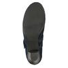 Niebieskie skórzane czółenka oszerokościH bata, niebieski, 623-9600 - 17