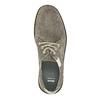 Nieformalne półbuty ze skóry bata, szary, 853-2612 - 19