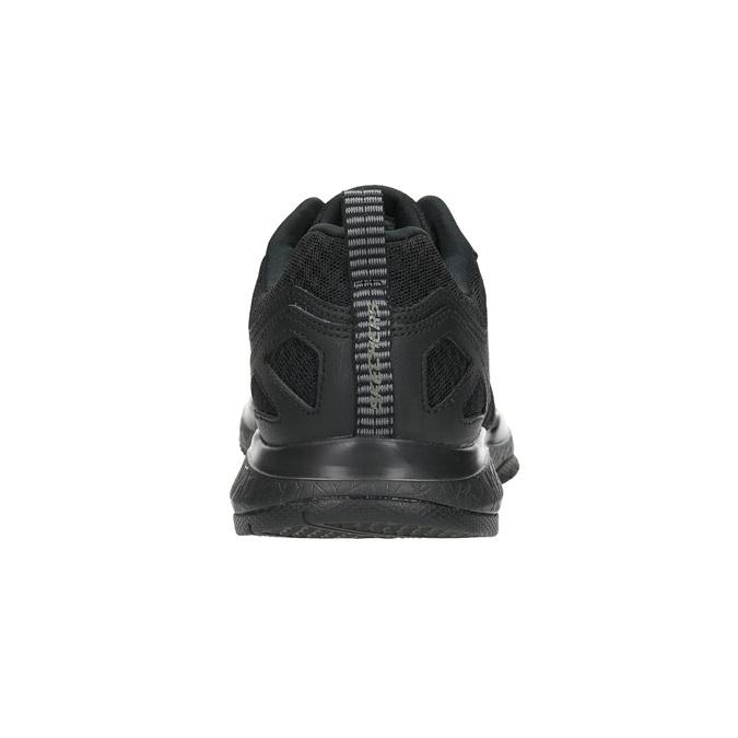Trampki męskie zpianką zpamięcią skechers, czarny, 809-6141 - 17