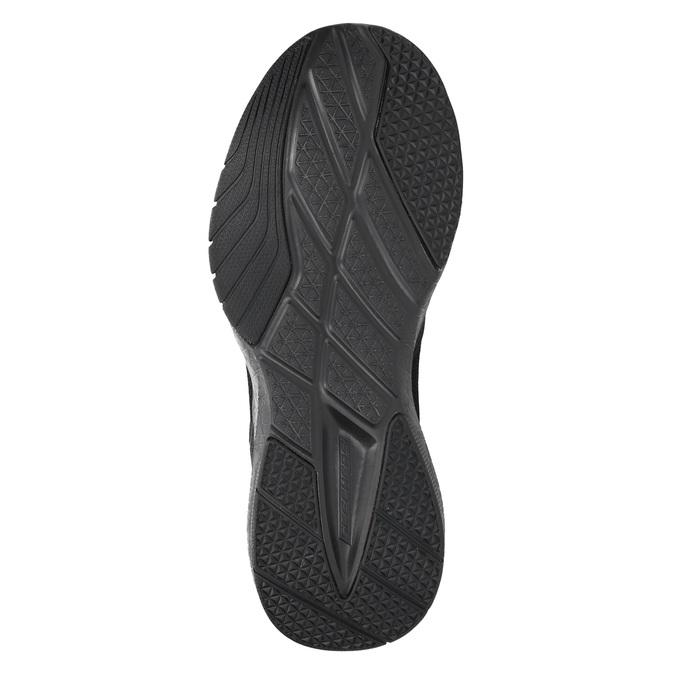 Trampki męskie zpianką zpamięcią skechers, czarny, 809-6141 - 26