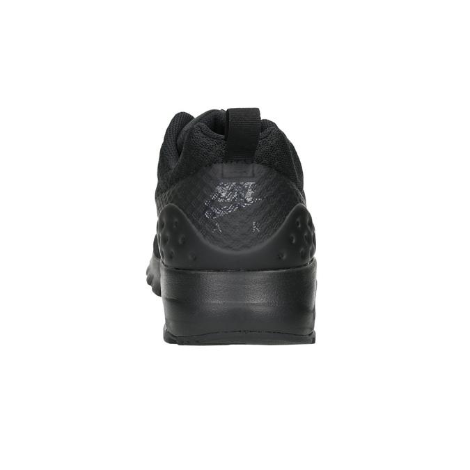 Trampki męskie wsportowym stylu nike, czarny, 809-6157 - 17