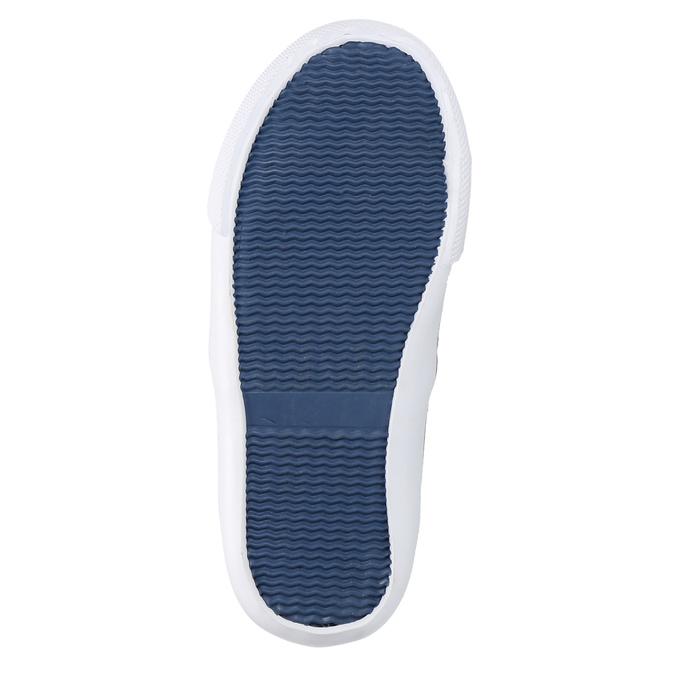 Obuwie dziecięce typu slip-on north-star, niebieski, 229-9193 - 26