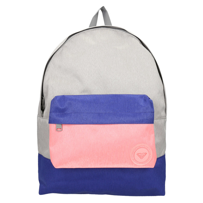 Kolorowy plecak roxy, szary, 969-2051 - 19