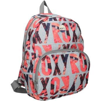Plecak wkolorowy deseń roxy, szary, 969-2050 - 13