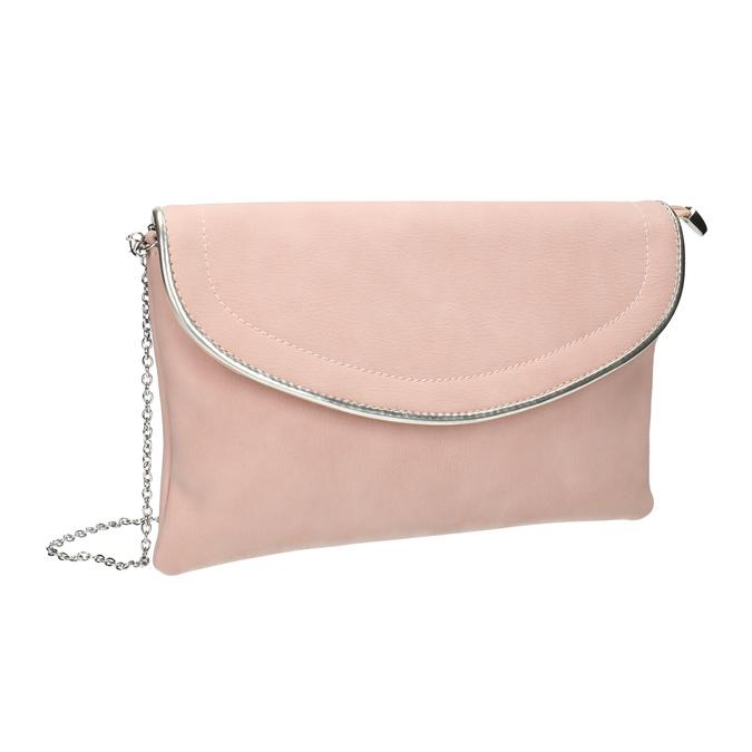 Różowa kopertówka bata, różowy, 961-5708 - 13
