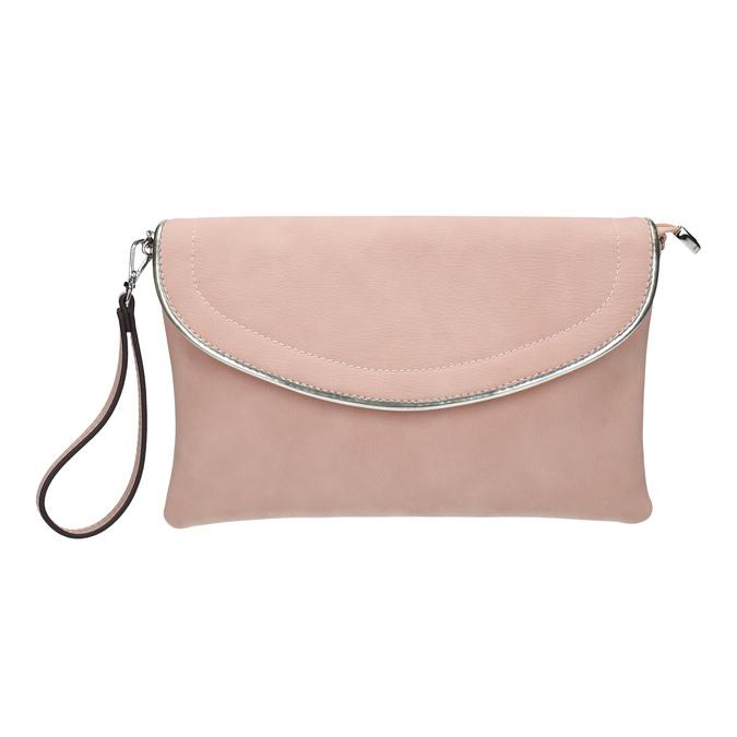 Różowa kopertówka bata, różowy, 961-5708 - 26