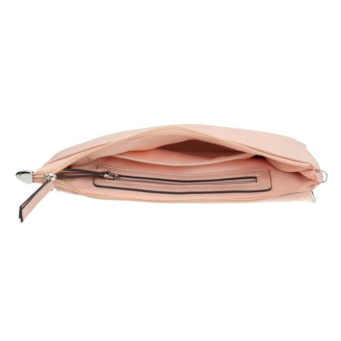 Różowa kopertówka bata, różowy, 961-5708 - 15