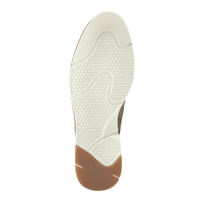 Zamszowe buty za kostkę weinbrenner, beżowy, 843-4625 - 26