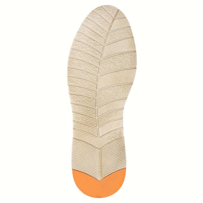 Zamszowe półbuty wcodziennym stylu weinbrenner, brązowy, 843-4629 - 26