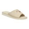 Kapcie damskie bata, beżowy, 579-8619 - 13