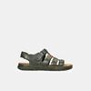 Letnie zamszowe sandały męskie bata, brązowy, 866-4610 - 13